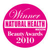 WINNER! Cellulite Product Natural Health Beauty Awards 2010