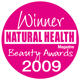 WINNER Best Body Scrub - Natural Health and Beauty Awards 2009